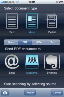 DocScanner [EDIT] Les bons plans de lApp Store ce lundi 4 juillet 2011