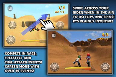 FMX Rider Les bons plans de lApp Store ce samedi 2 juillet 2011 (Très bonnes Apps)