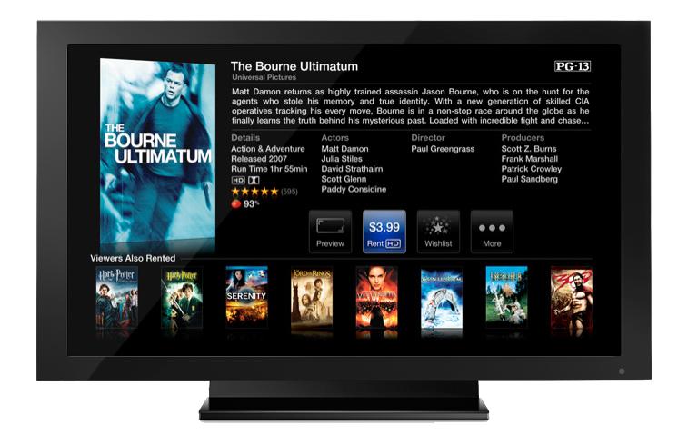 Films en HD iTunes/Apple TV : Des vidéos en Full HD 1080P pour septembre ?