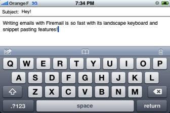 FireMail [EDIT] Les bons plans de lApp Store ce dimanche 3 juillet 2011