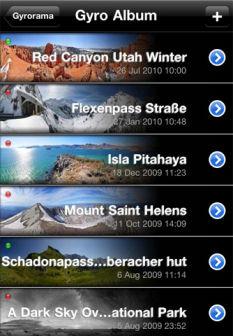 Gyrorama pro Les bons plans de lApp Store de ce vendredi 6 janvier 2012