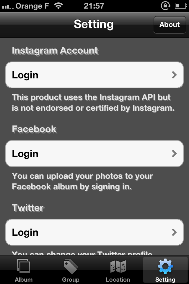 IMG 0081 [Test] My InstaAlbum, gérez vos photos Instagram dans une application indépendante (0,79€)