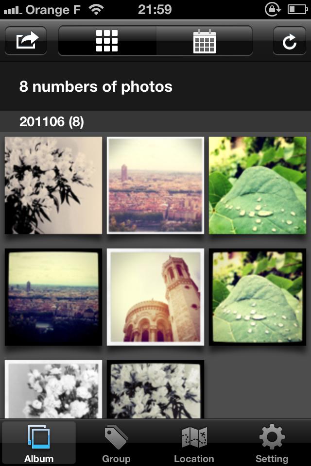 IMG 0082 [Test] My InstaAlbum, gérez vos photos Instagram dans une application indépendante (0,79€)