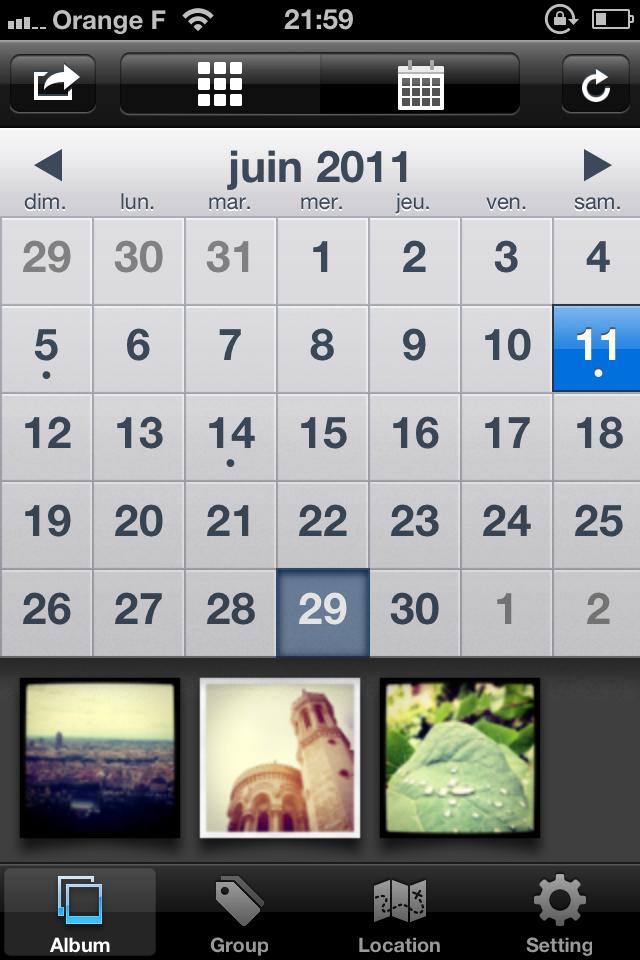 IMG 0083 [Test] My InstaAlbum, gérez vos photos Instagram dans une application indépendante (0,79€)
