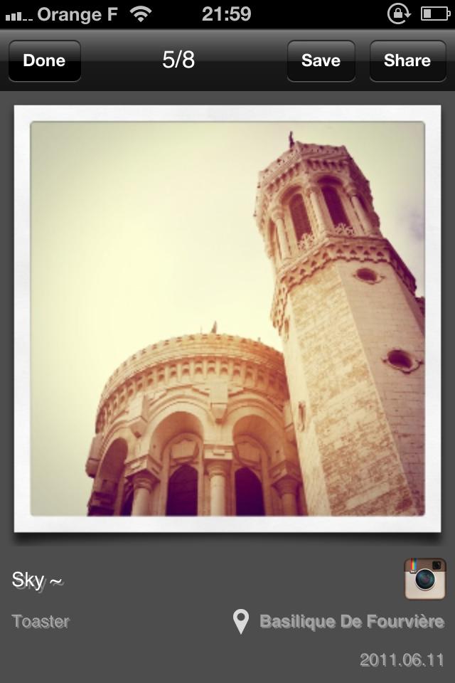 IMG 0084 [Test] My InstaAlbum, gérez vos photos Instagram dans une application indépendante (0,79€)
