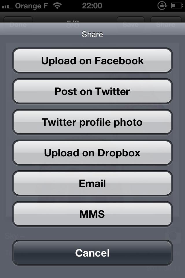 IMG 0085 [Test] My InstaAlbum, gérez vos photos Instagram dans une application indépendante (0,79€)