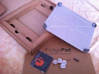 IMG 0397 [Test] FridgePad   Un support magnétique pour fixer son iPad sur son Réfrigirateur