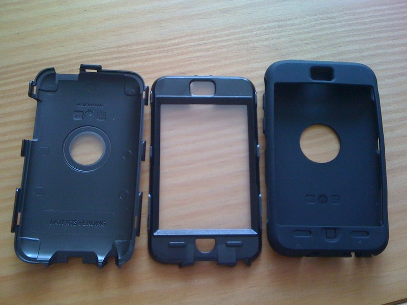 IMG 1763 Tests des Coques Defender pour iPad, iPhone, et iPod Touch