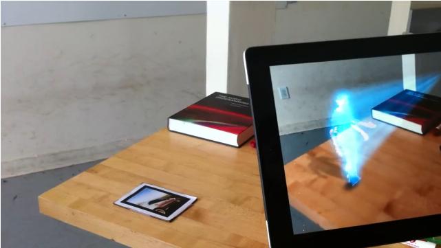 Kinect iPad Holograms Des chercheurs réussissent à afficher des hologrammes sur un iPad grâce au Kinect