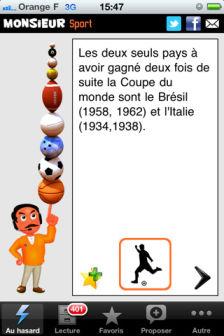 Monsieur sport [Màj] Les bons plans de lApp Store ce jeudi 14 juillet 2011 (Bonnes Apps)