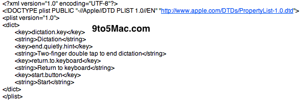 Nunca ios 5 code iOS5 : Des images cachées dune navigation vocale en partenariat avec Nuances