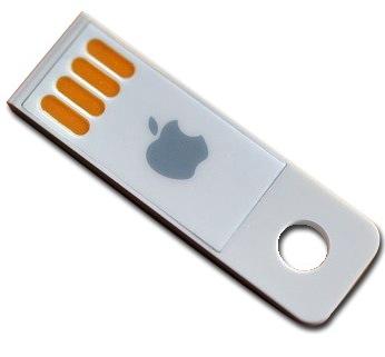 OSX USB key1 Mac OSX Lion sera disponible sur clé USB en Août pour 69$