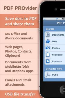 PDF provider [Màj] Les bons plans de lApp Store ce mercredi 13 juillet 2011
