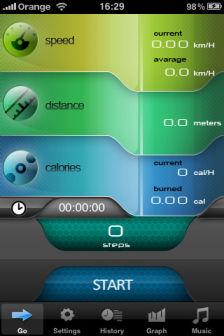 Pedometer Les bons plans de lApp Store ce samedi 23 juillet 2011