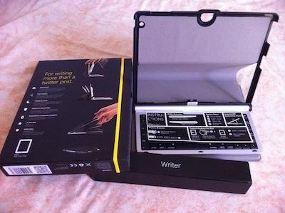 Concours : Un Adonit Writer pour iPad 2 à gagner   Une pochette clavier rudement pratique pour iPad (69€)