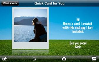 Photocards [EDIT] Les bons plans de lApp Store ce dimanche 3 juillet 2011