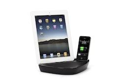 PowerDockDual iPad2 01 BD Test du PowerDock Dual de Griffin   Un Dock commun pour iPhone et iPad (59,99€)