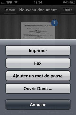 Scanner Pro 5 Test de Scanner Pro   Lapplication de référence pour scanner des documents sur iPhone (5,49€)