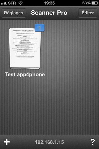 Scanner Pro 7 Test de Scanner Pro   Lapplication de référence pour scanner des documents sur iPhone (5,49€)