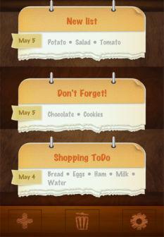 Shopping todo [MÀJ] Les bons plans de lApp Store ce vendredi 22 juillet 2011