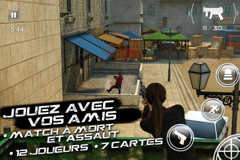 SilentOps iOS 3 Le dernier hit de Gameloft débarque sur lApp Store : Silent Ops