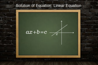 Solution-of-equation