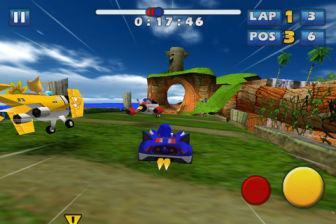 Sonic and sega allstar [MÀJ] Les bons plans de lApp Store ce jeudi 28 juillet 2011