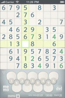 Sudoku Les bons plans de lApp Store ce mardi 12 juillet 2011