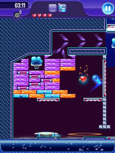 Test Block Breaker 7 [Test] Block Breaker 3 de Gameloft   Le jeu du casse brique a encore de beaux jours devant lui (0,79€)