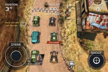 Test DeathRally 0009 [Test][+] Death Rally, partez à la conquête du bitume! (0,79€)