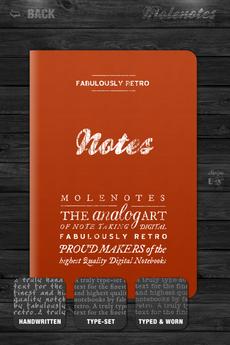 Test Molenotes 0019 [Test] Molenotes   votre carnet de notes à lancienne! (0,79€)