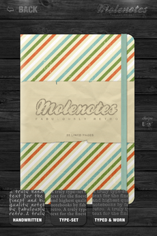 Test Molenotes 0023 [Test] Molenotes   votre carnet de notes à lancienne! (0,79€)