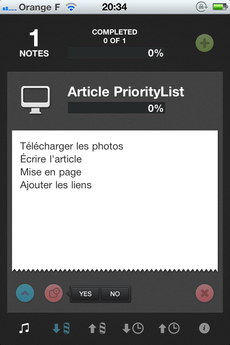 Test PriorityList 0005 [Test] Apprenez à gérer vos priorités avec PriorityList (0,79€)