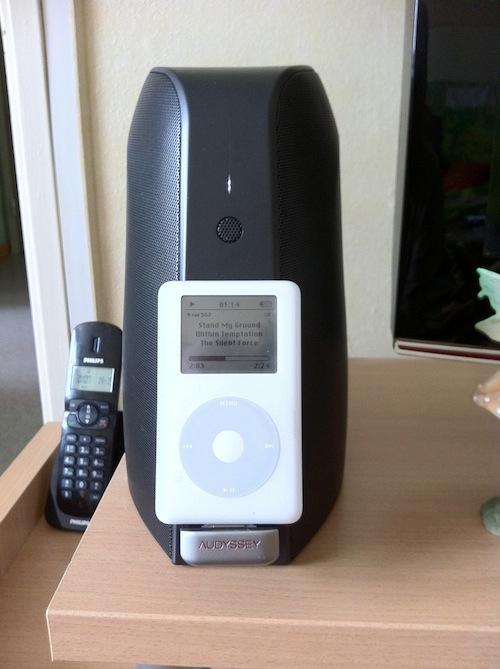 Test SOMA 007 Test du South Of Market Audio Dock dAudyssey, un dock audio haut de gamme