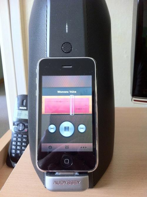 Test SOMA 015 Test du South Of Market Audio Dock dAudyssey, un dock audio haut de gamme