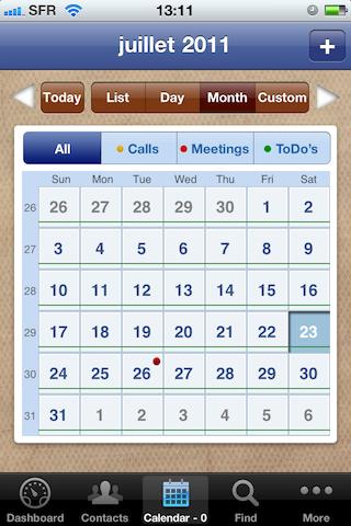 Test VIPObit003 [Test] de VIPOrbit   un gestionnaire de contacts et de calendrier très prometteur (7,99€)
