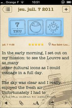Test WonderfulDays 0003 [Test] Un journal de bord en beauté avec Wonderful Days   Diary with Style (2,39€)