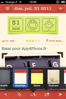 Test WonderfulDays 0017 [Test] Un journal de bord en beauté avec Wonderful Days   Diary with Style (2,39€)