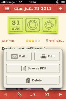 Test WonderfulDays 0020 [Test] Un journal de bord en beauté avec Wonderful Days   Diary with Style (2,39€)