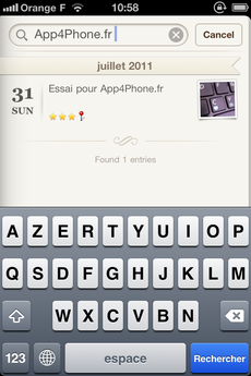Test WonderfulDays 0024 [Test] Un journal de bord en beauté avec Wonderful Days   Diary with Style (2,39€)