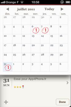Test WonderfulDays 0025 [Test] Un journal de bord en beauté avec Wonderful Days   Diary with Style (2,39€)