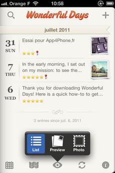 Test WonderfulDays 0027 [Test] Un journal de bord en beauté avec Wonderful Days   Diary with Style (2,39€)