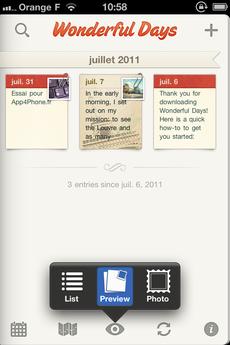 Test WonderfulDays 0028 [Test] Un journal de bord en beauté avec Wonderful Days   Diary with Style (2,39€)