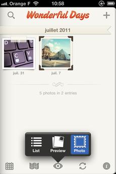 Test WonderfulDays 0029 [Test] Un journal de bord en beauté avec Wonderful Days   Diary with Style (2,39€)