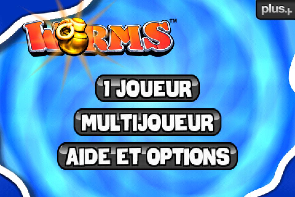 Test Worms ecran accueil [Test] de Worms   Un jeu de stratégie au tour à tour des plus réussis