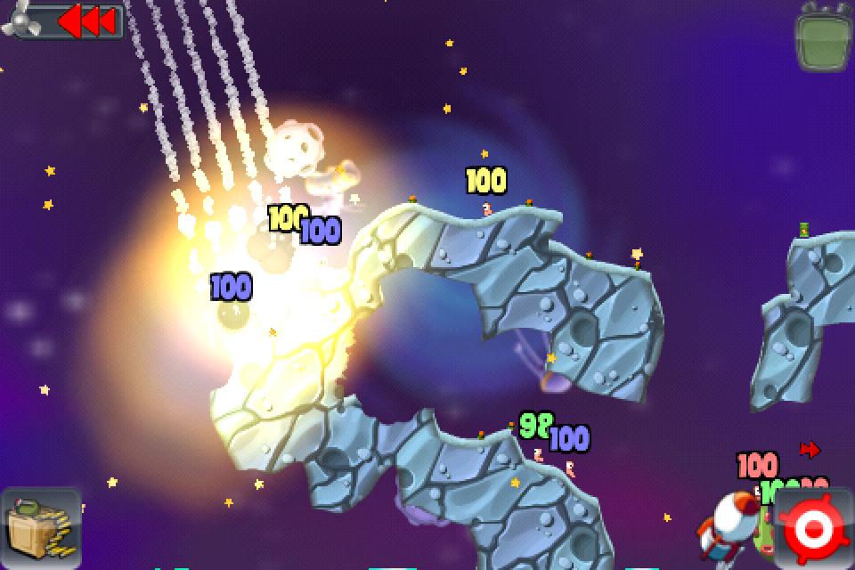Test Worms ecran jeu 4 [Test] de Worms   Un jeu de stratégie au tour à tour des plus réussis