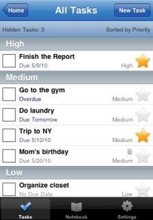 ToodleDo [EDIT] Les bons plans de lApp Store ce dimanche 3 juillet 2011