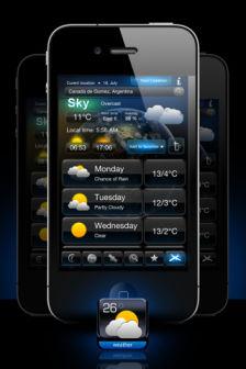 Weather forecaster pro [MÀJ] Les bons plans de lApp Store ce lundi 25 juillet 2011