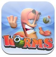Worms Worms (0,79€) en promotion aujourdhui ! Devenez un ver guerrier !