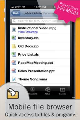Wyse pocket cloud1 Les bons plans de lApp Store ce samedi 2 juillet 2011 (Très bonnes Apps)